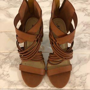 JustFab Women's High Heel Sandals